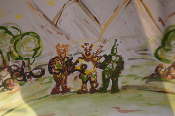 The characters of the Globiuz series